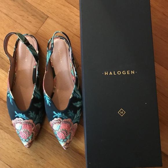 e4aaa198bf6 Halogen Shoes - Halogen Sadie Slingback Flat